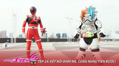 Kamen Rider Ex-aid - Tập 24: Kết nối đam mê, cùng nhau tiến bước!