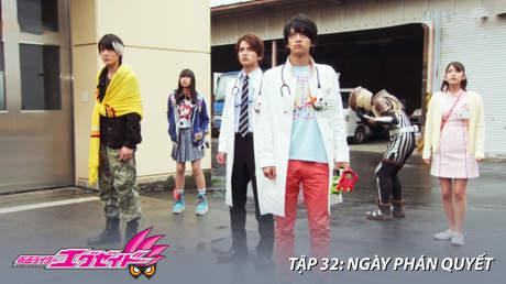 Kamen Rider Ex-aid - Tập 32: Ngày phán quyết