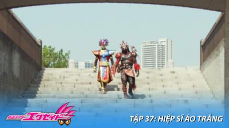 Kamen Rider Ex-aid - Tập 37: Hiệp sĩ áo trắng
