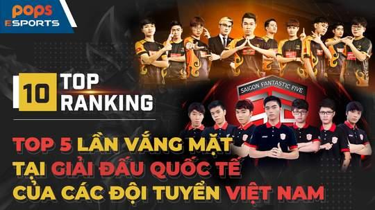 Top 5 lần vắng mặt tại giải đấu quốc tế của các đội tuyển Việt Nam