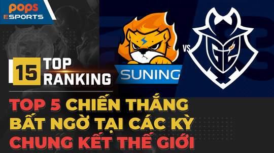 Top 5 chiến thắng bất ngờ tại các kỳ CKTG Liên Minh Huyền Thoại