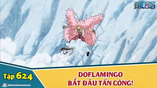 One Piece S16 - Tập 624: Xóa sổ G5! Doflamingo bắt đầu tấn công!