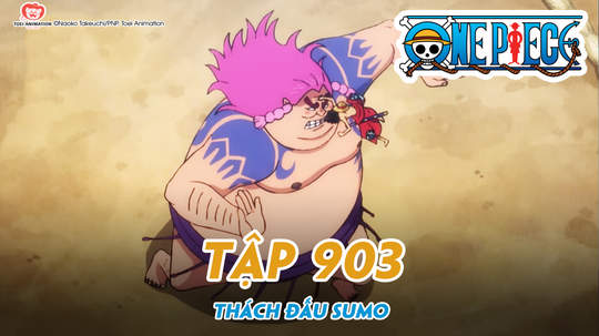 One Piece S20 - Tập 903: Thách đấu Sumo - Mũ Rơm vs Yokozuna mạnh nhất