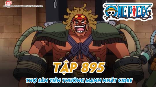 One Piece S20 - Tập 895: Thợ săn tiền thưởng mạnh nhất Cidre