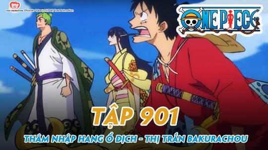 One Piece S20 - Tập 901: Thâm nhập hang ổ địch - Thị trấn Bakurachou