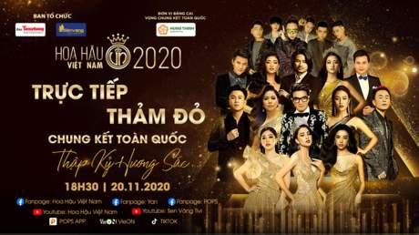 Hoa Hậu Việt Nam 2020 - Chung Kết Toàn Quốc: Phần thảm đỏ