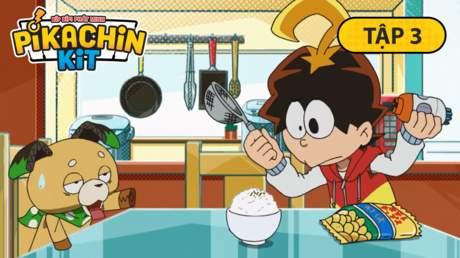 Pikachin - Tập 3: Máy làm gia vị rắc cơm