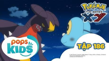 Pokémon S17 - Tập 186: Tiến hoá Mega và tháp Lăng Kính