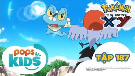 Pokémon S17 - Tập 187: Keromatsu đấu với Yayakoma