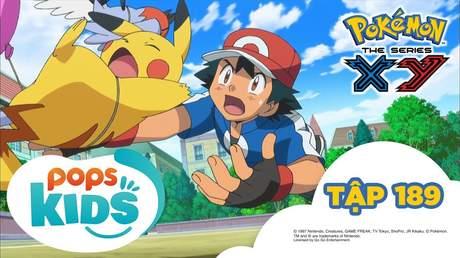 Pokémon S17 - Tập 189: Trận chiến nhà thi đấu Hakudan