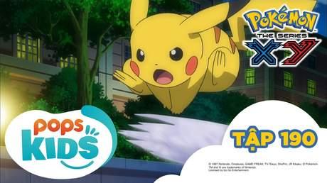 Pokémon S17 - Tập 190: Trận đấu trên băng! Pikachu đấu với Viviyon