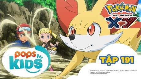 Pokémon S17 - Tập 191: Hãy tin tưởng Serena! Cuộc đua Sihorn kỳ thú