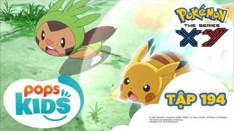 Pokémon S17 - Tập 194: Harimaron đấu với Mega Mega Nyasu