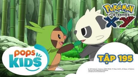 Pokémon S17 - Tập 195: Cuộc ttruy đuổi trong rừng tre