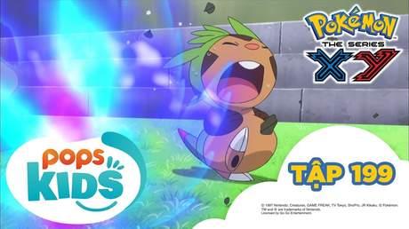 Pokémon S17 - Tập 199: Harimaron đấu với Mahoxy! Cuộc chiến giảm cân