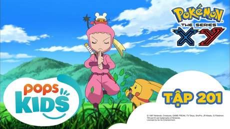 Pokémon S17 - Tập 201: Keromatsu đấu với Gekogashira