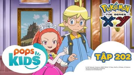 Pokémon S17 - Tập 202: Trận đấu ở cung điện Hương thơm