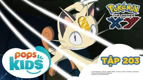 Pokémon S17 - Tập 203: Âm mưu của Madame X
