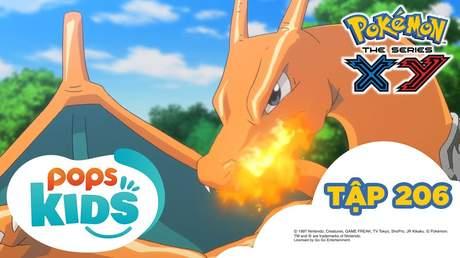Pokémon S17 - Tập 206: Sức mạnh tối thượng của tiến hoá Mega I