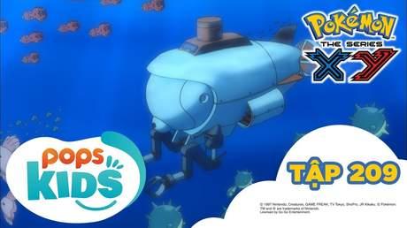 Pokémon S17 - Tập 209: Lâu đài dưới đáy biển! Kuzumo và Doramidoro