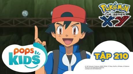 Pokémon S17 - Tập 210: Trận chiến nhà thi đấu Shoyo