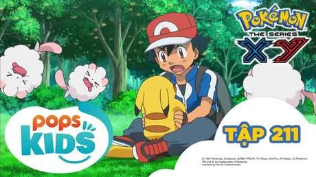 Pokémon S17 - Tập 211: Trận đấu ngọt nhưng không dễ dàng