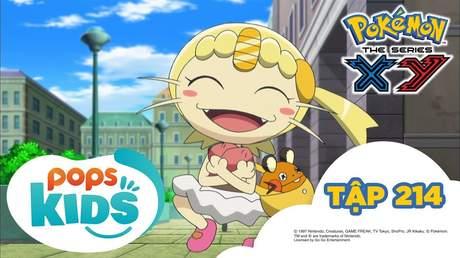 Pokémon S17 - Tập 214: Bất ngờ! Satoshi giả mạo xuất hiện