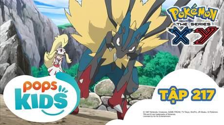 Pokémon S17 - Tập 217: Lucario Mega đối đầu với Lucario Mega