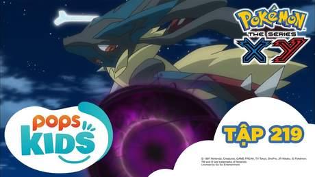 Pokémon S17 - Tập 219: Lucario Mega đấu với Kucheat Mega