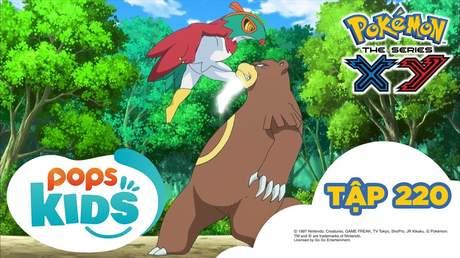 Pokémon S17 - Tập 220: Nhà vô địch của rừng xanh gặp gỡ Ruchaburu
