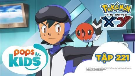 Pokémon S17 - Tập 221: Trận chiến trên không! Ruchaburu đấu với Phaiaro