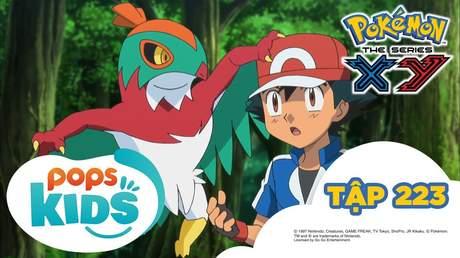 Pokémon S17 - Tập 223: Orotto của khu rừng ma quái