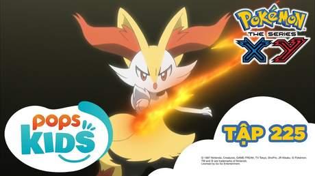 Pokémon S17 - Tập 225: Cuộc đối đầu của huấn luyện viên Pokémon