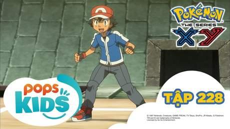Pokémon S17 - Tập 228: Toà tháp chuyên gia! Lịch sử tiến hoá Mega