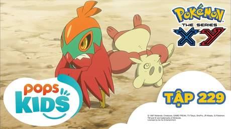 Pokémon S17 - Tập 229: Trận chiến nhà thi đâu Shara