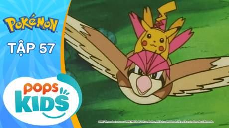 Pokémon S2 - Tập 57: Hãy cháy lên! Nhà thi đấu Glen