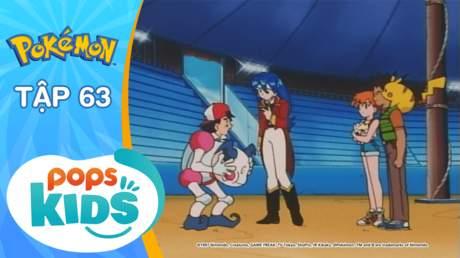 Pokémon S2 - Tập 63: Barrierd của rạp xiếc Pokémon