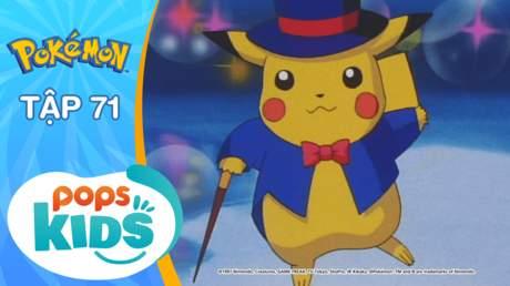 Pokémon S2 - Tập 71: Nỗ lực thành người của Nyasu