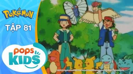 Pokémon S2 - Tập 81: Giải liên đoàn Pokémon! Trận đấu cuối cùng