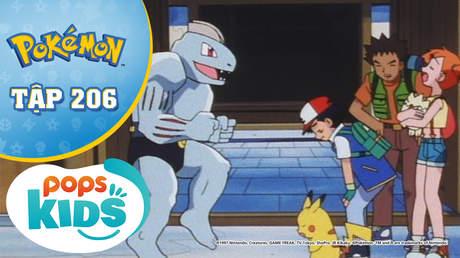 Pokémon S5 - Tập 206: Nhà thi đấu Tanba - Đối đầu trực diện với hệ giác đấu