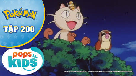 Pokémon S5 - Tập 208: Poppo và Poppo lớn - Bay trên bầu trời cao