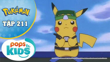 Pokémon S5 - Tập 211: Maintain và con tàu bị đắm - Bí mật của Pokémon bí ẩn