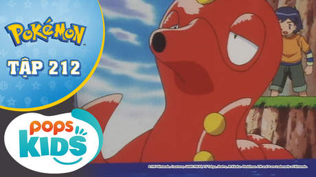 Pokémon S5 - Tập 212: Okutank và Teppouo - Vòng loại cúp Xoắn Ốc