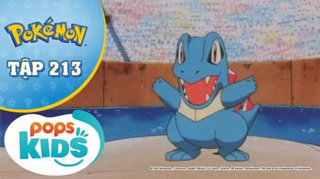 Pokémon S5 - Tập 213: Cúp Xoắn Ốc - Trận chiến trên đấu trường nước