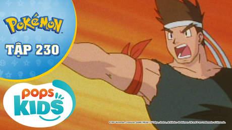 Pokémon S5 - Tập 230: Balkie và vua Karate Nobuhiko!