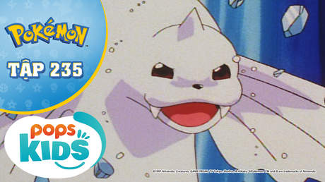 Pokémon S5 - Tập 235: Nhà thi đấu Chouji - Thi đấu trên băng