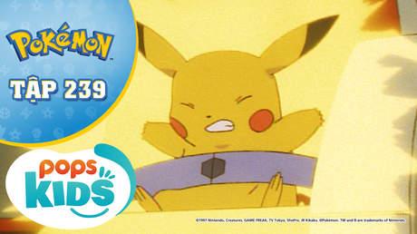 Pokémon S5 - Tập 239: Thunder và viên pha lê - Bí mật của hồ nước