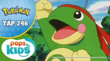 Pokémon S5 - Tập 246: Nyorotono và cổ động viên