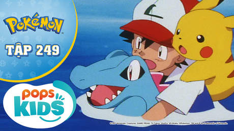 Pokémon S5 - Tập 249: Răng nanh rồng của nhà thi đấu Fusube