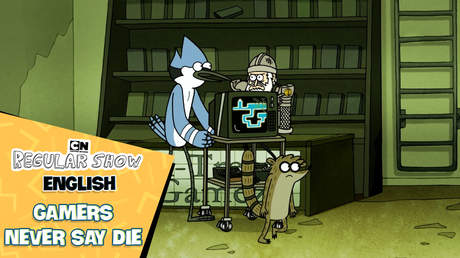 Regular show English - Ep 18: Gamers never say die